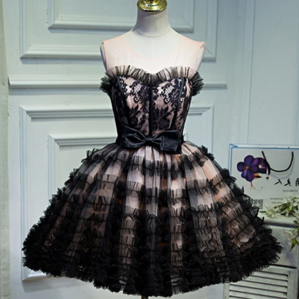 Cute Sweetheart A-Line Dresses,Shor..