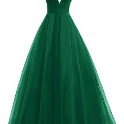 Backless Prom Dresses,Green Prom G..