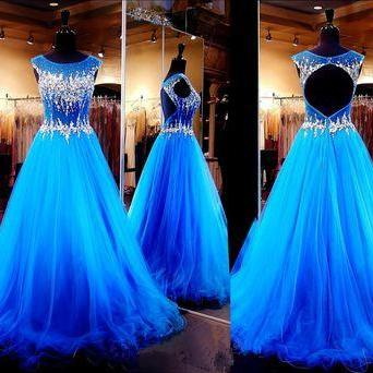 Charming Quinceanera Dress,Royal Bl..