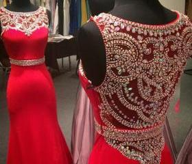 Red Prom Dress Off S..