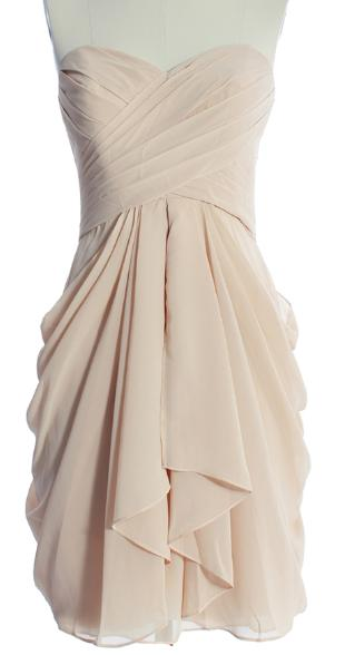 AMAZING A-LINE EMPIRE WAIST CHIFFON DRESS FOR SWEETHEART CHIFFON BRIDESMAID DRESS WITH EMPIRE Chiffon Knee-Length Bridesmaid Dresses