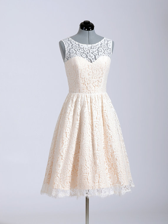 Lace Wedding Dress Bridal Gown Sleeveless Cotton