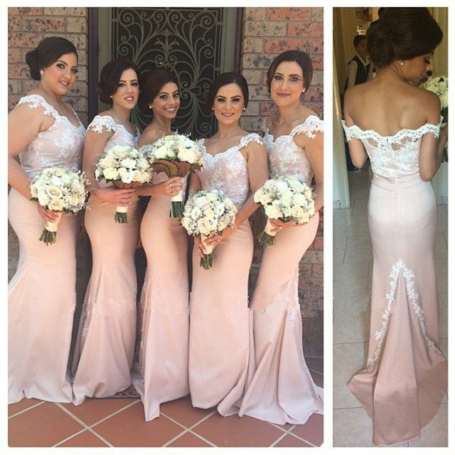Bridesmaid dresses pink long sleeve