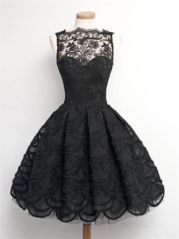 Short Homecoming Dress,Black Homecoming Dress, Lace Homecoming Dress,Dresses for junior ,Homecoming Dress,Cocktail Dresses,Graduation Dress