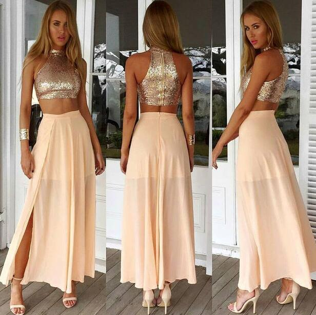 Two Piece Evening Dresses