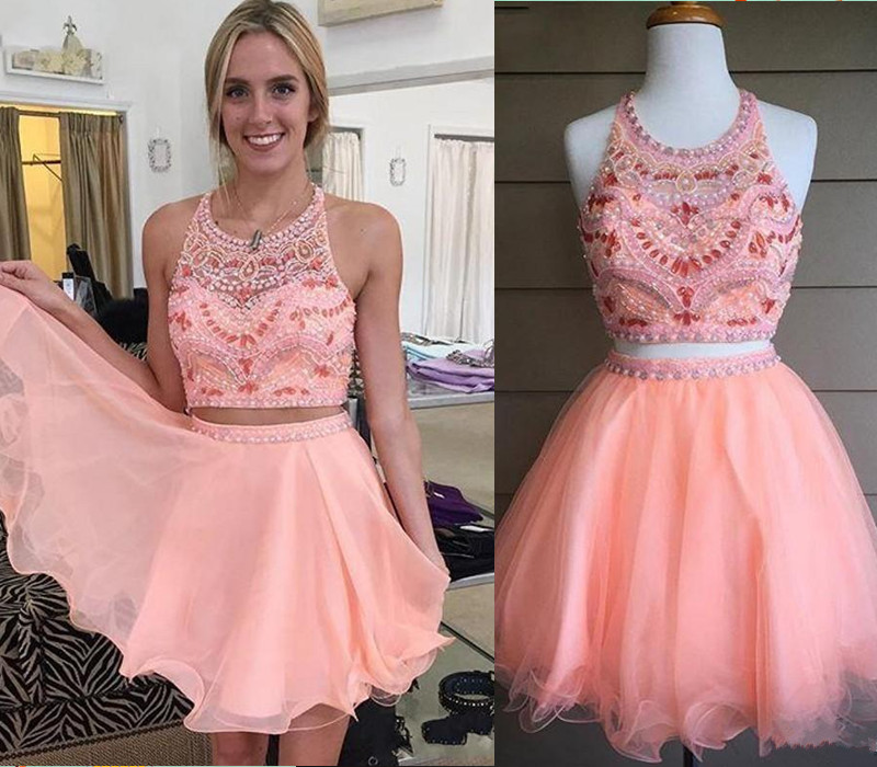 831a148a952 Blush Pink Homecoming Dress