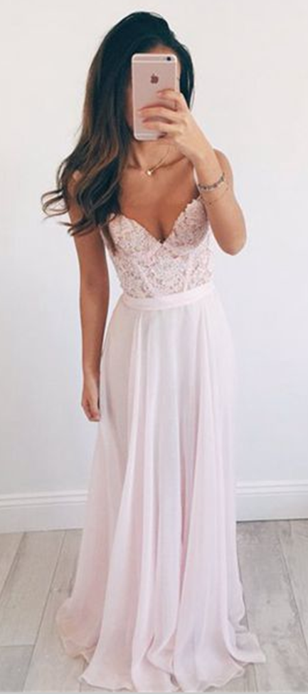 New Arrival Prom Dress, long prom dresses,elegant A-line sweetheart lace long evening dresses, formal dress,fashion dress for teens
