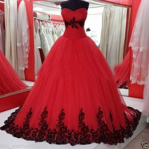 Red Prom Dresses,Prom Dress,prom Dresses,ball Gown Formal Gown ...