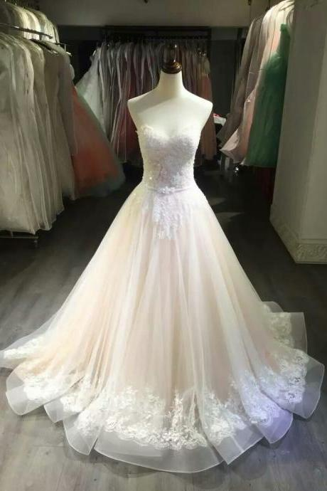 Wedding Dress,Wedding Gown,Bridal Gown,Bride Dresses, Long Wedding Dresses,Nude Wedding Dresses, Ball Gown Bridal Dresses,Bridal Dresses 2017,Sweetheart Wedding Dress,Bridal Dresses With Beaded ,Princess Wedding Dress,Lace Wedding Gown,Vestido De Noiva