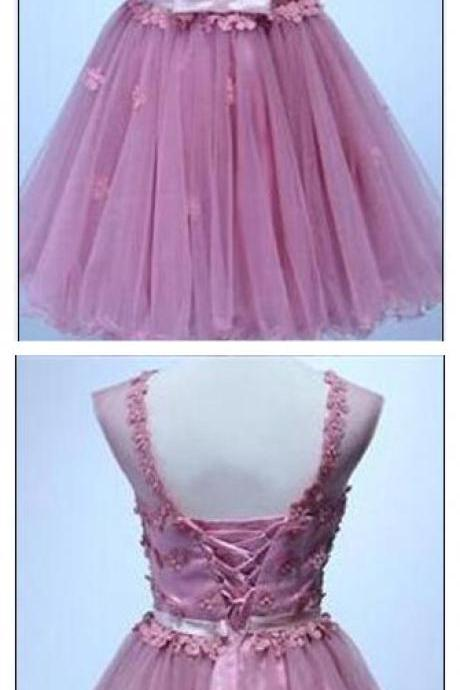 Homecoming Dresses, Appliques Homecoming Dresses, Organza Homecoming Dresses, Cheap Homecoming Dresses, Juniors Homecoming Dresses