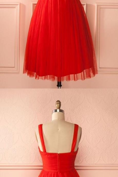 short red homecoming dress party dress, 2018 short red dancing dress party dress