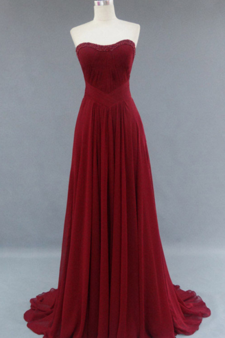 Gown,Pretty Prom Dresses,Chiffon Prom Gown,
