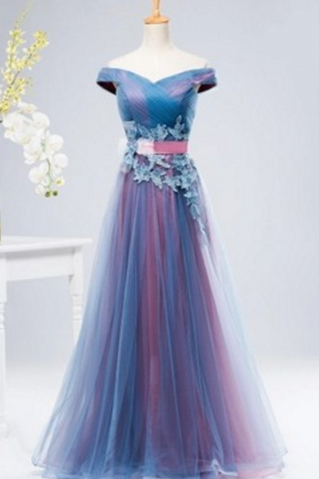 The new word should be slim body slender blue pink dress female