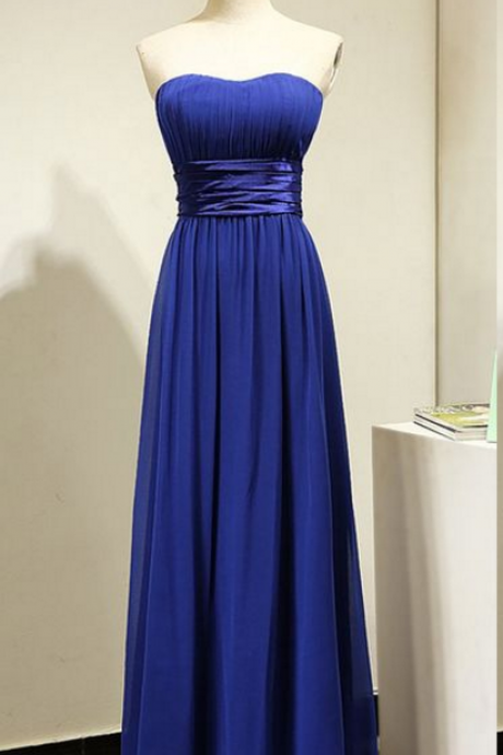 Strapless Long Formal Occasion Dress Evening Dress