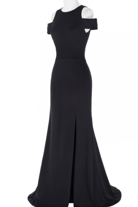 Kate Kasin's black ball gown, gown, evening dresses