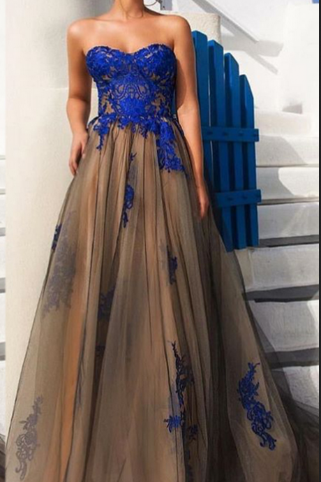 Black Prom Dresses, Sweetheart Evening Dresses, Backless Evening Gowns, Lace Appliques Prom Dresses, A Line Prom Dresses, Arabic Prom Dresses