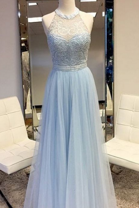Sexy Prom Dress,blue prom dresses, evening dresses, formal dresses, bridesmaid dresses,
