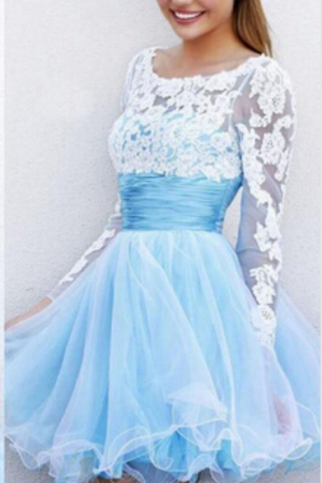 Homecoming Dresses, New Prom Dresses, Short Prom Dresses, Long sleeves Prom Dresses, Party Dresses, Short Dresses , Custom Prom Dresses