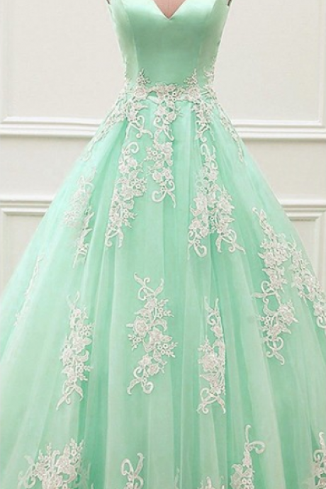 Off The Shoulder Formal Dresses,White Applique Prom Dresses,A-line Prom Dress Evening Dresses,V Backless Evening Gowns