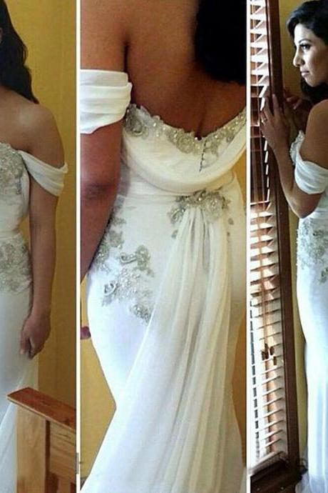 Elegant Prom Dress,Unique Prom Dresses,Pretty Prom Dress,Beaded Prom Dress,Mermaid Prom Dress,Off Shoulder Prom Dress,Long Prom Dresses