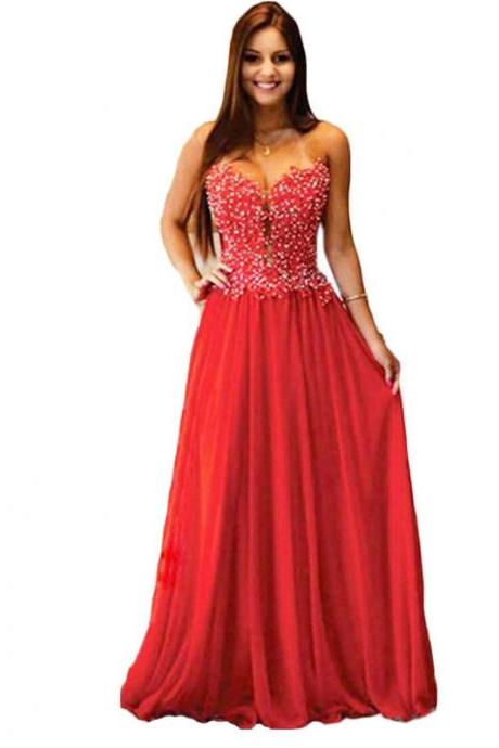 long elegant red prom dresses, strapless prom dresses,sexy long chiffon evening dresses , formal prom dresses dresses party evening,formal dresses evening 2016 new arrival formal dresses,elegant long evening dresses