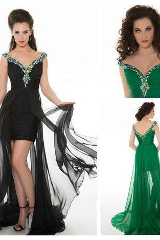 Elegant Open Back Cap Sleeves Homecoming Dresses Long A Line Party Gowns With Straps New Arrival