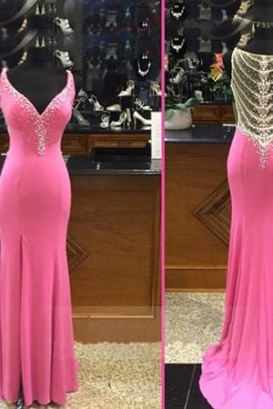 Prom Dresses,Luxury Prom Dresses,Modest Prom Dresses,Pearls Prom Dresses,Beaded Prom Dreses,Unique Prom Dresses,Straps Prom Dresses,Long Prom Dresses,Dresses For Prom