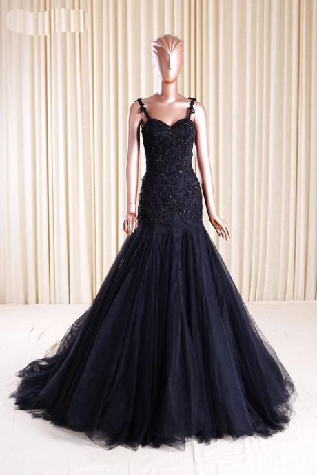 black Prom Dresses,long Evening Dress,Prom Dress,Prom Gown,Sexy Prom Dress,Long Prom Gown,Modest Evening Gowns for Teens,evening dress