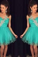 Blue Homecoming Dress,Homecoming Dresses,Homecoming Gowns,Party Dress,Short Prom Gown,Sweet 16 Dress,Homecoming Gowns