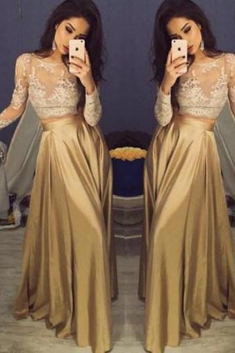 Lace Prom Dresses,Mermaid Prom Dress,Modest Prom Gown,Prom Gown,Elegant Evening Dress,Lace Evening Gowns,Long Sleeves Party Gowns