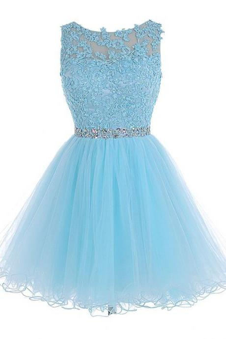 Homecoming Dress,Lace Homecoming Dress,Blue Homecoming Dress,Fitted Homecoming Dress,Short Prom Dress,Homecoming Gowns,Cute Sweet 16 Dress For Teens