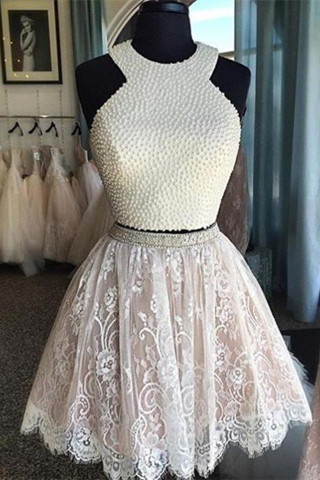 Homecoming Dress,Lace Homecoming Gown,Tulle Homecoming Gowns,Ball Gown Party Dress,Short Prom Dresses,Lace Formal Dress For Teens