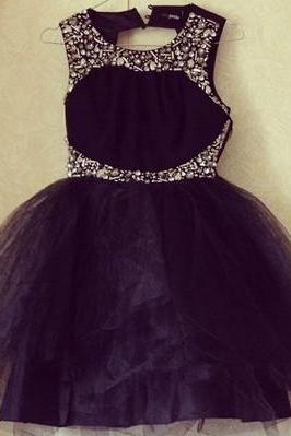 Sequin Homecoming Dress,Sparkle Homecoming Dresses,Glitter Homecoming Gowns,Short Prom Gown,Sweet 16 Dress,Cute Homecoming Dresses,Black Cocktail Dress,Birdesmaid Dress