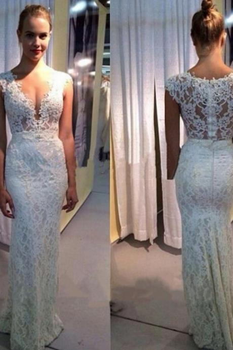 Wedding Dresses,2016 Wedding Gown,Lace Wedding Gowns,Mermaid Bridal Dress,Fitted Wedding Dress,Mermaid Brides Dress,Vintage Wedding Gowns,Mermaid Wedding Dress