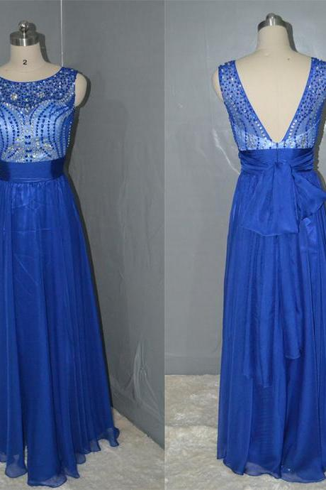 Royal Blue Charming Prom Dress,Long Prom Dresses,Charming Prom Dresses,Evening Dress, Prom Gowns, Formal Women Dress,prom dress