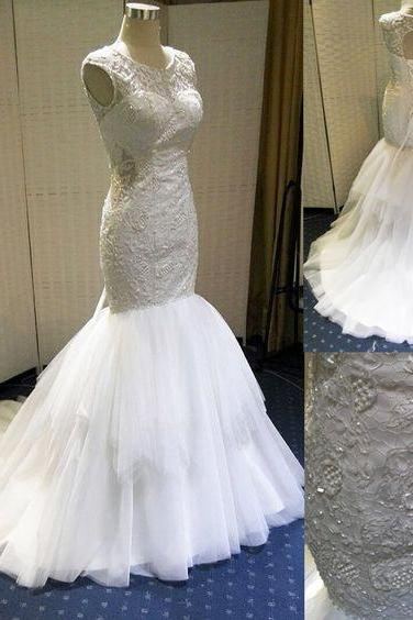 Wedding Dresses,2016 Wedding Gown,Lace Wedding Gowns,Bridal Dress,Wedding Dress,Brides Dress,Vintage Wedding Gowns, mermaid Wedding Dress
