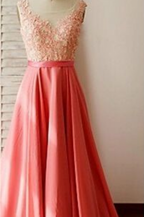 Floral Prom Dress,Applique Prom Dress,Backless Prom Dress,Fashion Prom Dress,Sexy Party Dress, New Style Evening Dress