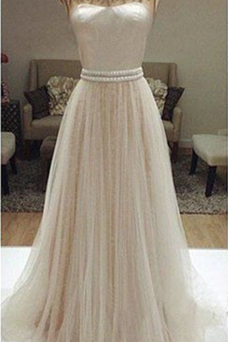 Charming Prom Dress,Beaded Prom Dress,Illusion Prom Dress,Fashion Prom Dress,Sexy Party Dress, New Style Evening Dress