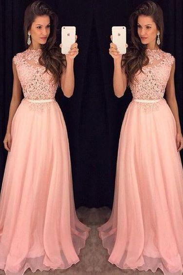 Pink Prom Dresses,Prom Gowns, Pink Prom Dresses,Party Dresses,Long Prom Gown,Prom Dress,Sparkle Evening Gown, Party Gowbs