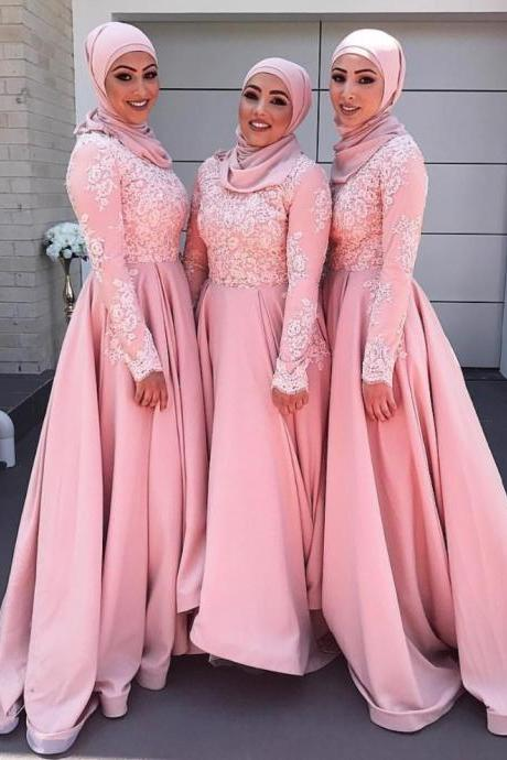 Prom Dress,Sexy Long Sleeve Appliques Prom Dress with Lace, Evening Dress,Sexy Prom Dress,Long Evening Dress,Formal Gown,High Quality Graduation Dresses,Wedding Guest Prom Gowns, Formal Occasion Dresses,Formal Dress