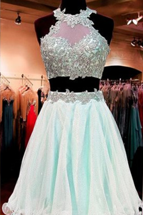 Party Dress, Charming Prom Dress,New Prom Dress,2 pieces Homecoming Dress,Prom Gown,Short Party Dress,Wedding Guest Prom Gowns, Formal Occasion Dresses,Formal Dress