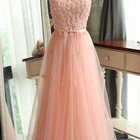 Fashion Pink Tasting Tops New Shoulder Long Dresses Banquet Party Bride Tribute Dresses Bridesmaids Dresses