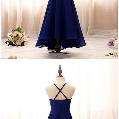 Evening Dresses For Girls Offshoulder Dress Wedding Princess Flower Girls Prom Dresses Halter Cross Strap Children Dress