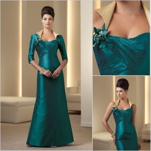 New Maxi Mother of the Bride Outfits Long Evening Dress Wedding Party Gown