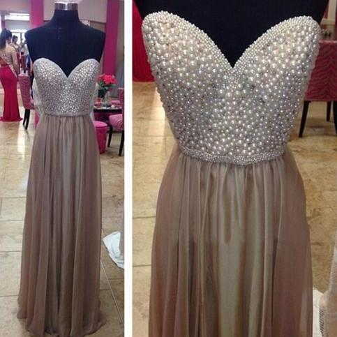 Long prom dress, sweet heart prom dress, beading prom dress, elegant prom dress, popular prom dress, modest prom dress, formal prom dress, evening dress