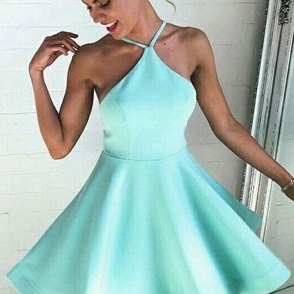 Homecoming Dress,Mint Green Homecoming Dress,Mint Green Homecoming Dress,Homecoming Dress,Short Prom Dress,Country Homecoming Gowns,Sweet 16 Dress,Simple Homecoming Dress,Casual Parties Gowns